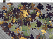 Screen shot of Jigsaw Piece (Jigsaw Puzzle Game for Universal Windows Platform): 96 pieces puzzle in progress